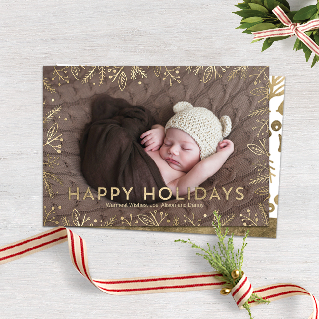 new_holiday_card_designs_holiday_foliage