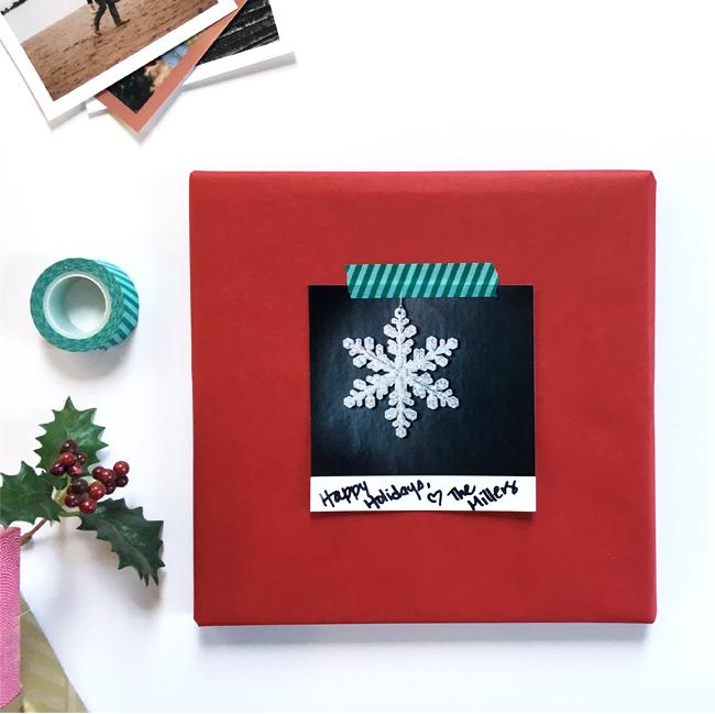 Diy Holiday Gift Tags With Collage Prints Snapfish Blog