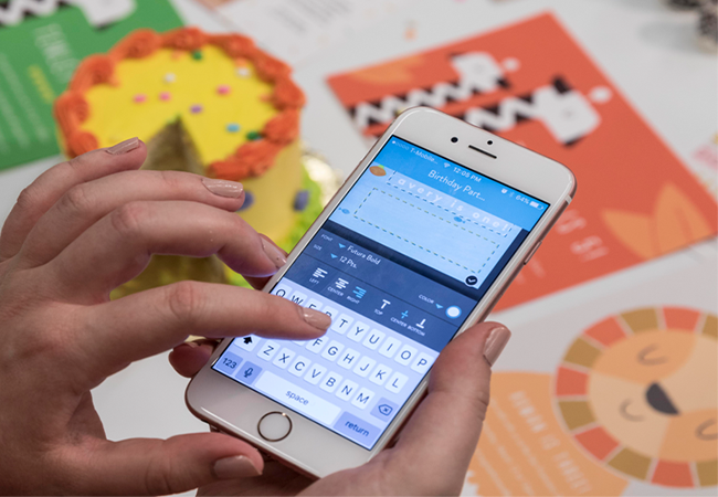 Party Prep With Invitations In The Snapfish App The Snapfish Blog