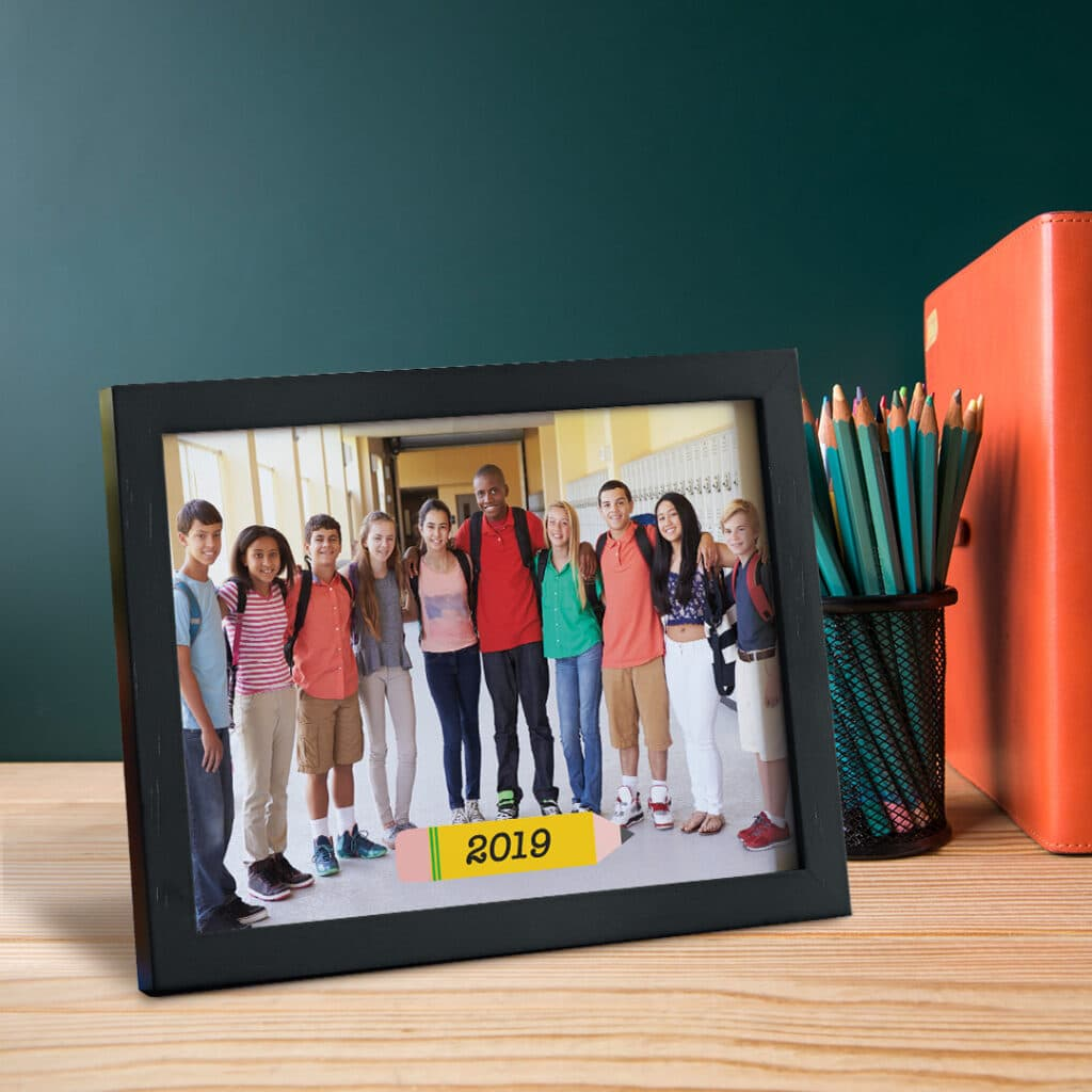 personalize your framed prints