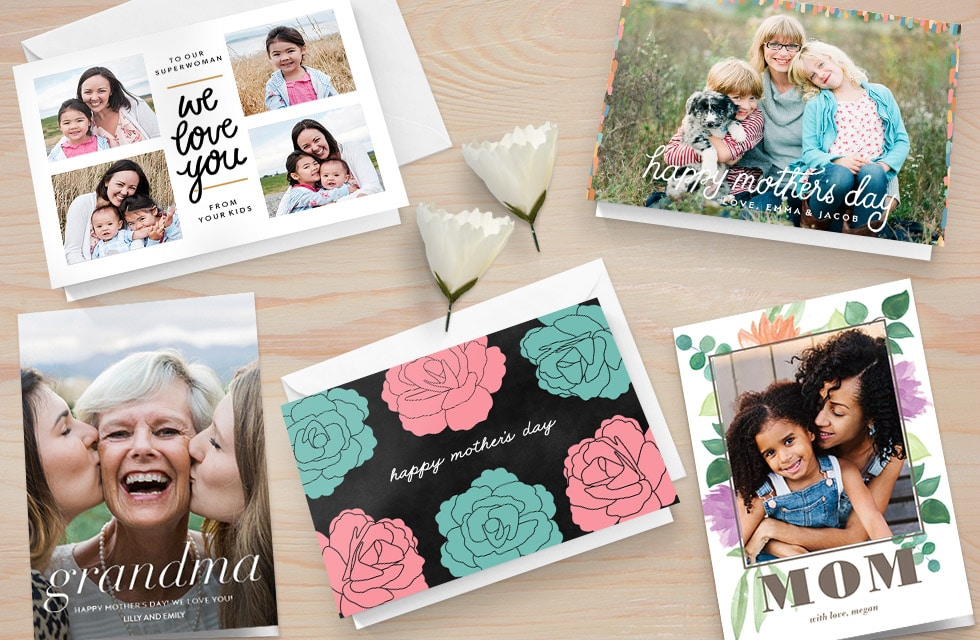 Create personalized cards for Mom