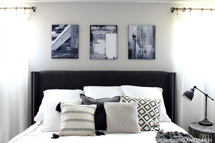 Diy Bedroom Makeover Marries Chic And Rustic Style The Snapfish Blog