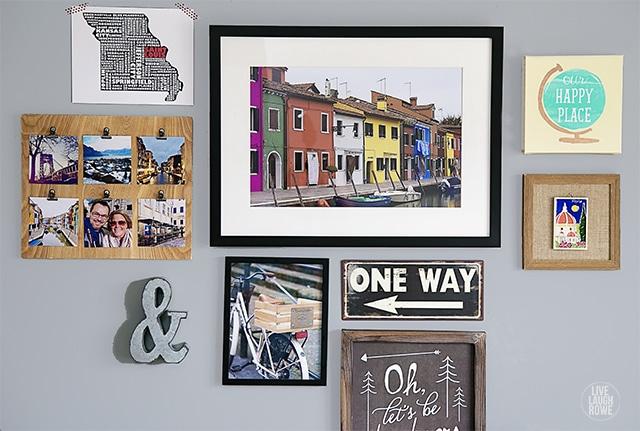 Make a DIY Instagram Photo Frame - The Snapfish Blog 9899d3e45d76