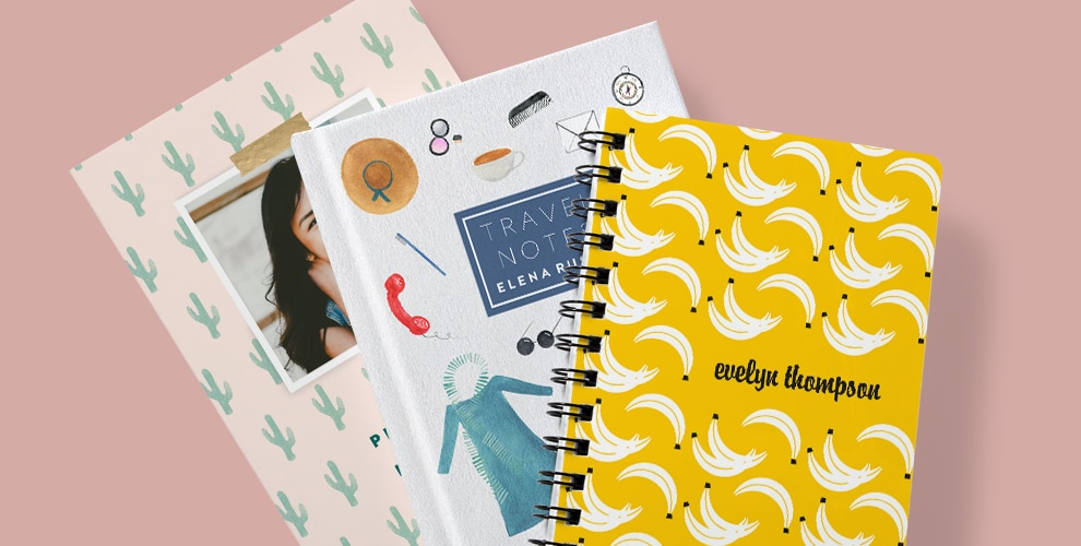 Meet Our New Personalized Notebooks And Journals Snapfish Blog
