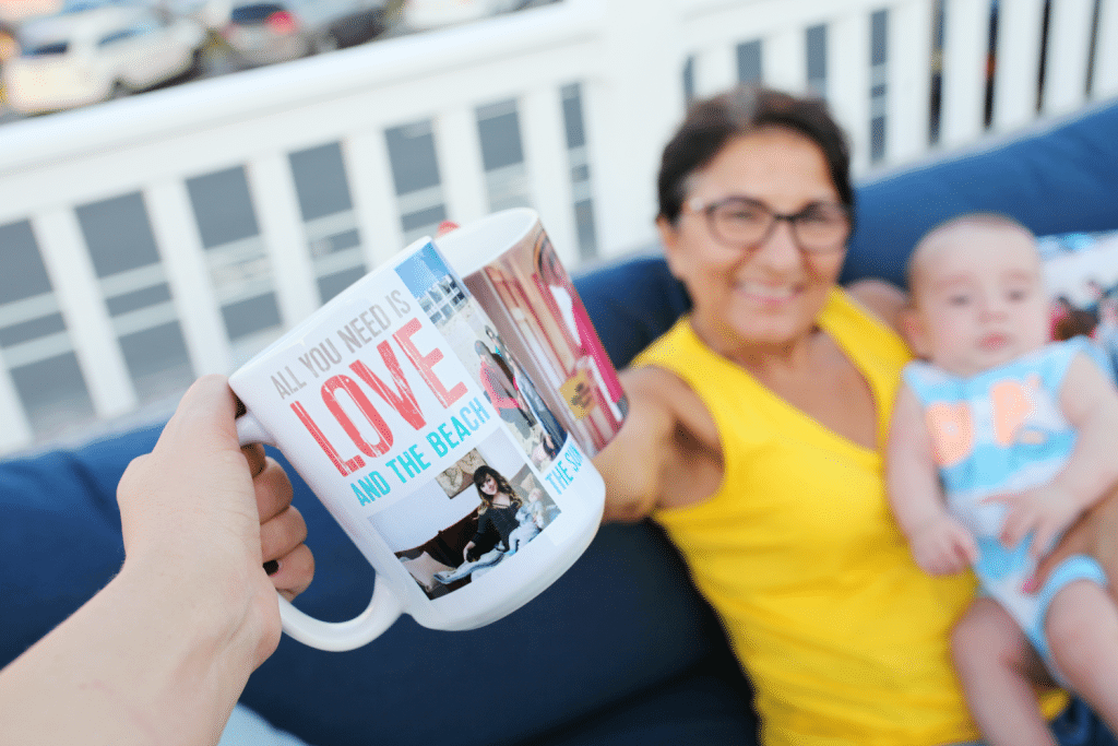 Snapfish Summer Photo Mug