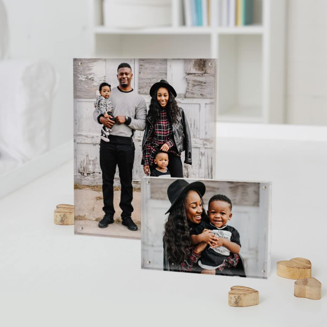 Snapfish Home & Office Gifts - Acrylic Photo Blocks