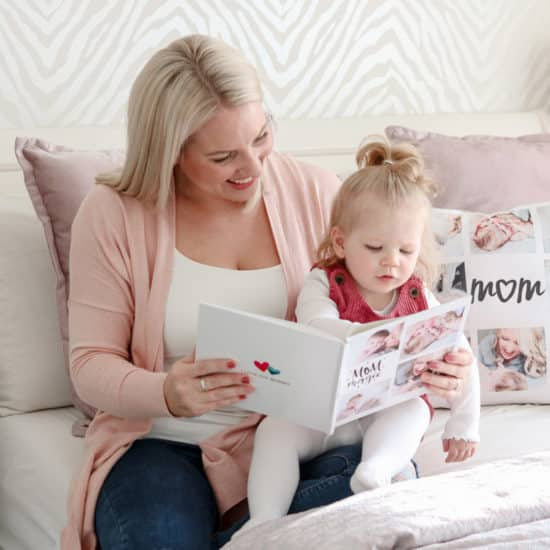 Create custom photo books and home decor for unique Mother's Day gifts