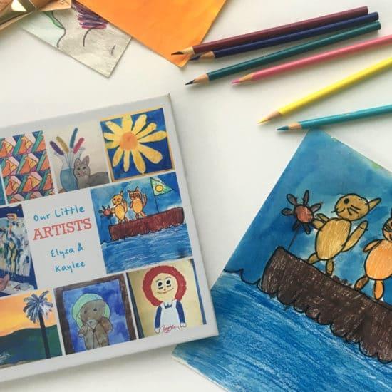 Kids Art Book Cover