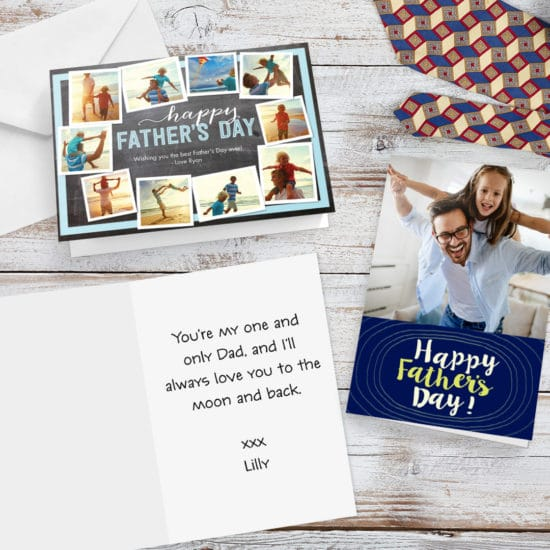 Create custom cards for Dad this Father's Day.