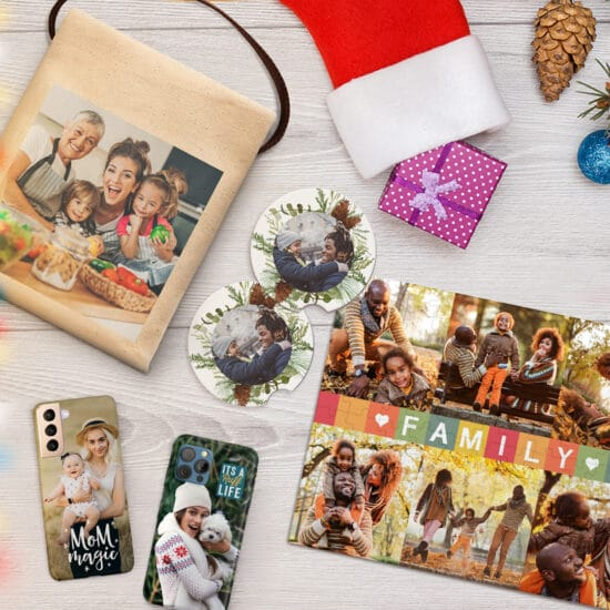 Create custom gifts for friends and family this holiday with Snapfish